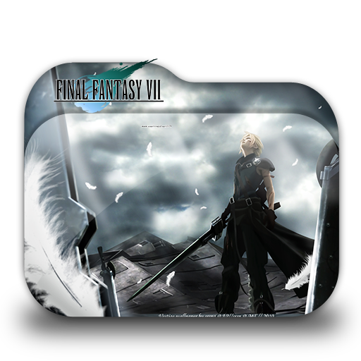 Final Fantasy Vii Folder Icon