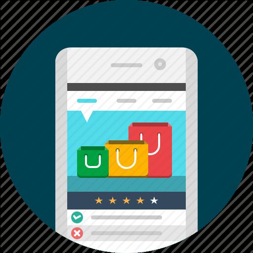 App, Mobile, Shop, Shopping, Shopping App, Shopping Cart, Store Icon