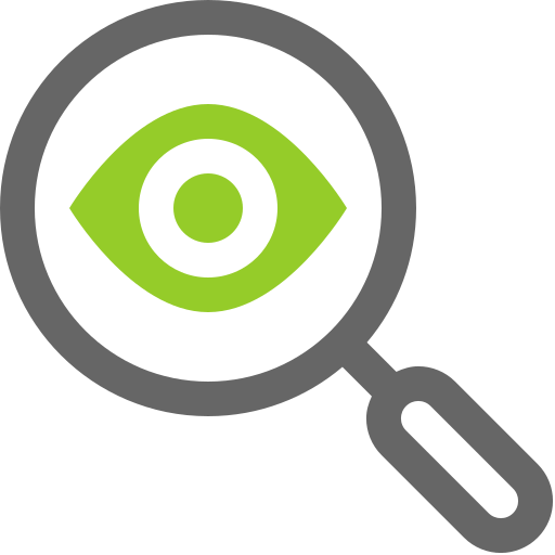 Search, Location, Eye, Find, Magnifying Glass Icon Free Of Mini Icons