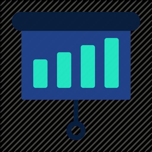 Financial, Fintech, Presentation, Solutions, Technology Icon