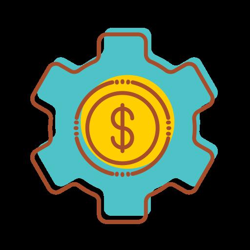 Technology, Financial, Making, Internet, Money, Bank Icon