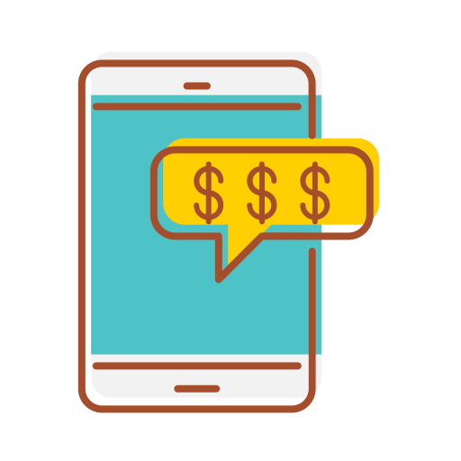 Mobile, Banking Icon Free Of Fintech Filled Line Icons