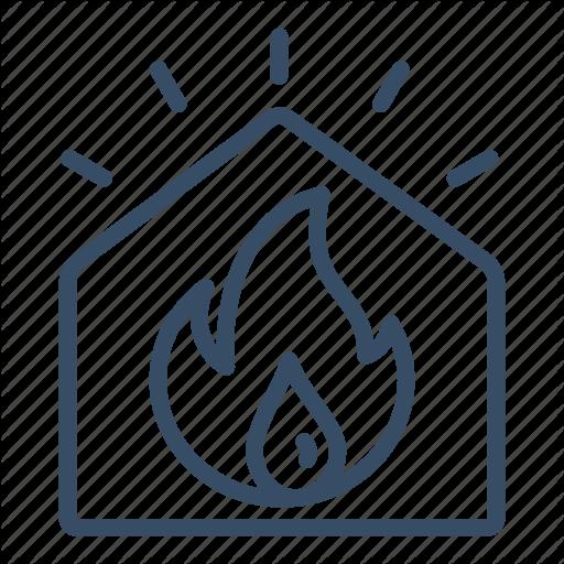 Alarm, Burn, Fire, Fire Alarm, Fire Sensor, Flame, Sensor Icon