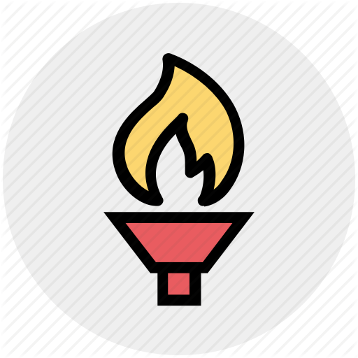 Fire, Flame, Game, Olympic, Olympic Touch, Sports, Touch Icon