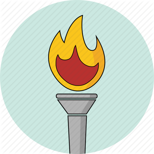 Fire, Icons, Olympic, Olympics, Torch Icon