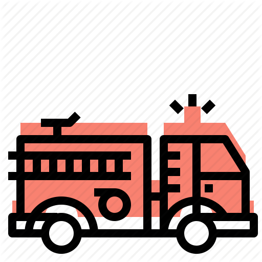Car, Engine, Fire, Truck Icon