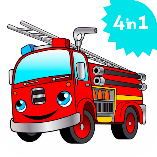 Cool Big Fire Truck Games For Kids Free Activity App