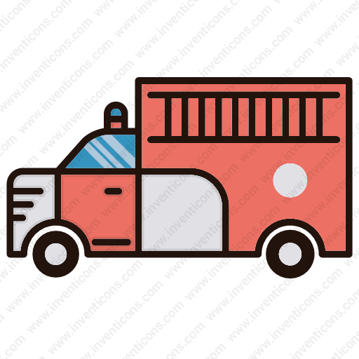 Download Fire,truck,firefighter Icon Inventicons