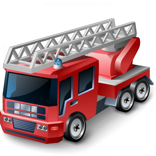 Iconexperience V Collection Fire Truck Icon