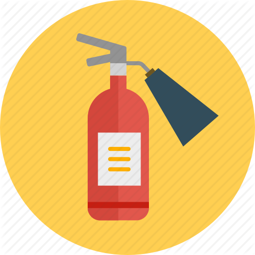 Extinguisher, Fire, Fire Extinguisher, Flame, Protection, Safety Icon