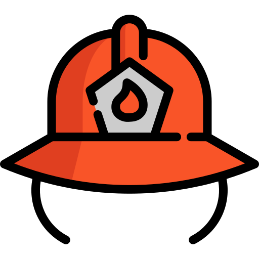 Firefighter Helmet Png Icon