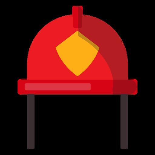 Firefighter Helmet Illustration