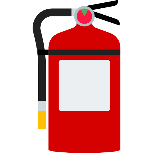 Firefighting, Fire, Hose Icon