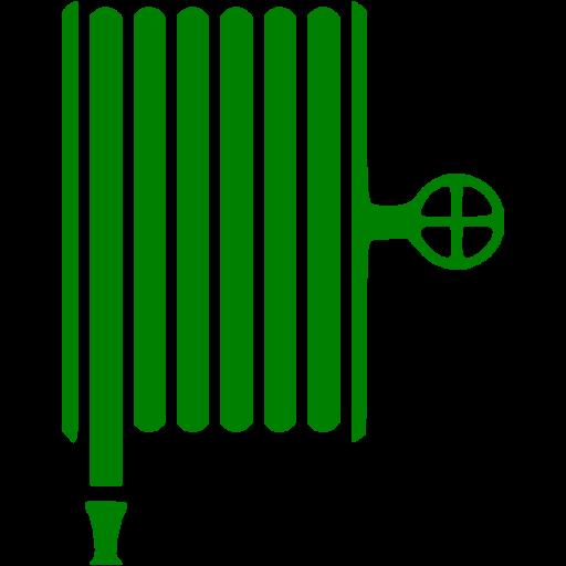 Green Fire Hose Icon