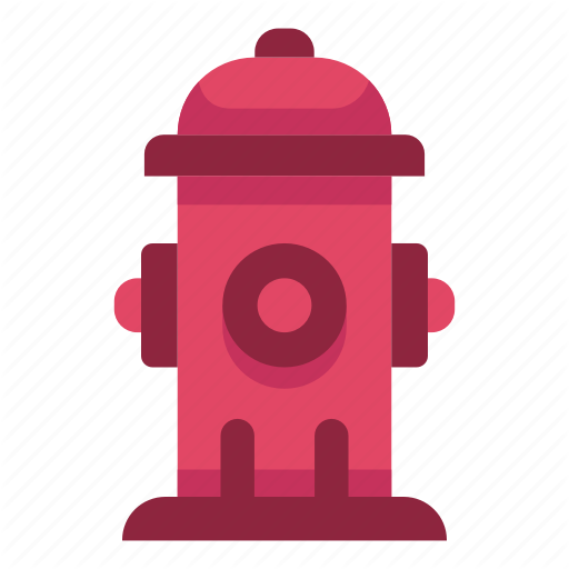 Emergency, Fire, Hydrant, Protection, Safety, Urban, Water Icon