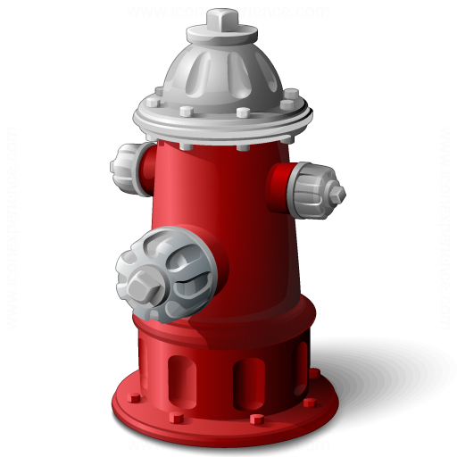Iconexperience V Collection Fire Hydrant Icon