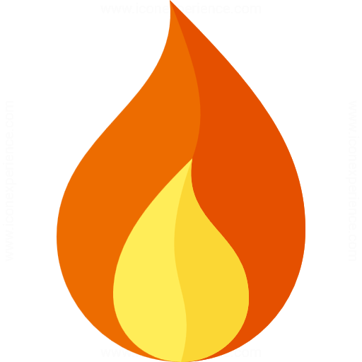 Iconexperience G Collection Flame Icon