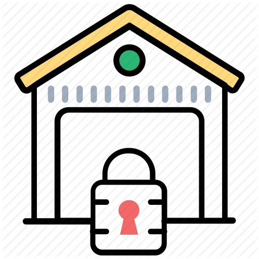 Warehouse Security Icon