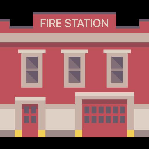 Firemen, Truck, Fire Station, Building, Buildings, Firefighters