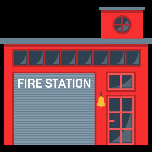 Buildings, Firefighters, Truck, Firemen, Emergencies, Building