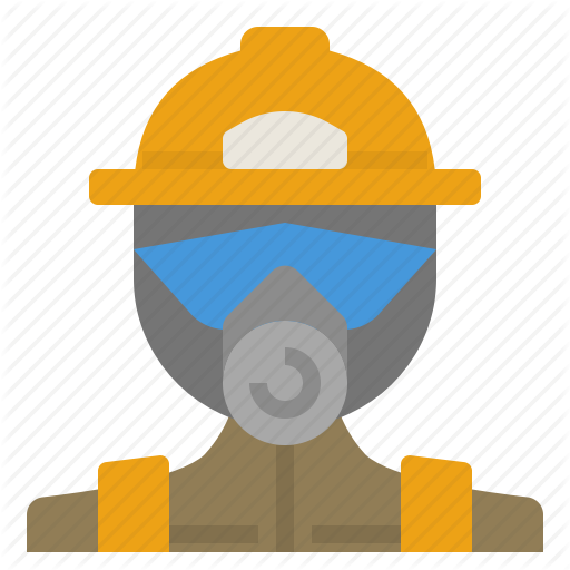 Equipment, Fire, Firefighter, Fireman, Mask, Protection, Safe Icon