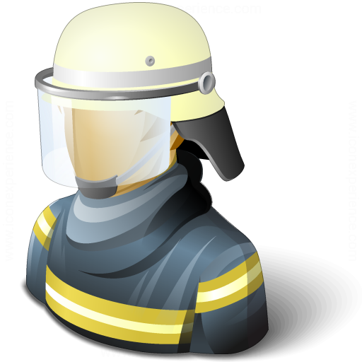 Iconexperience V Collection Firefighter Icon