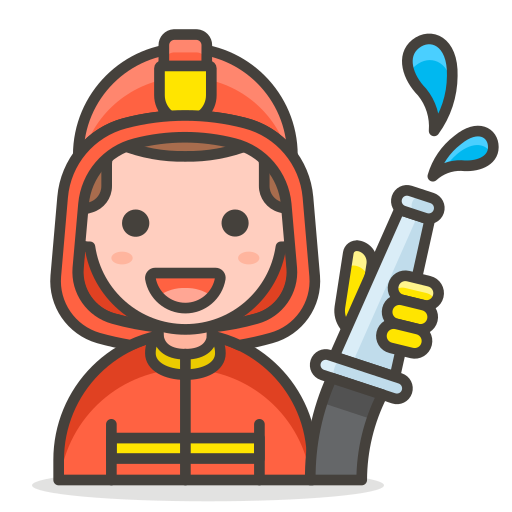 Man, Firefighter Icon Free Of Free Vector Emoji