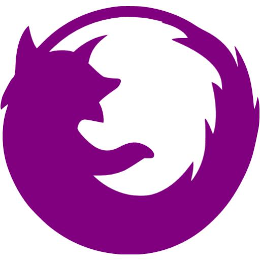 Purple Firefox Icon