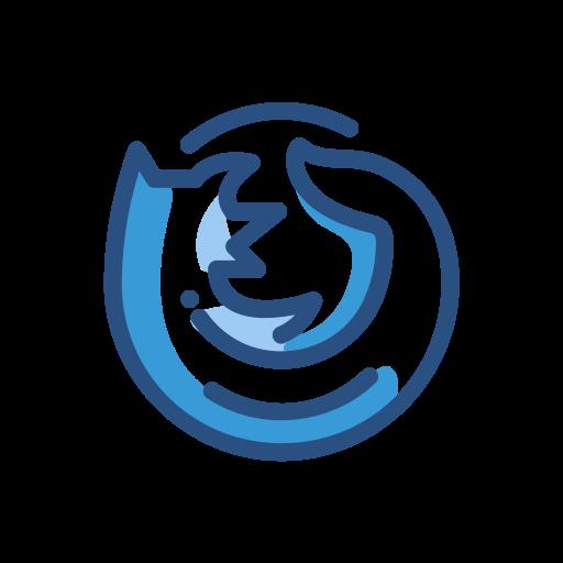 Firefox, Media, Network, Social Icon