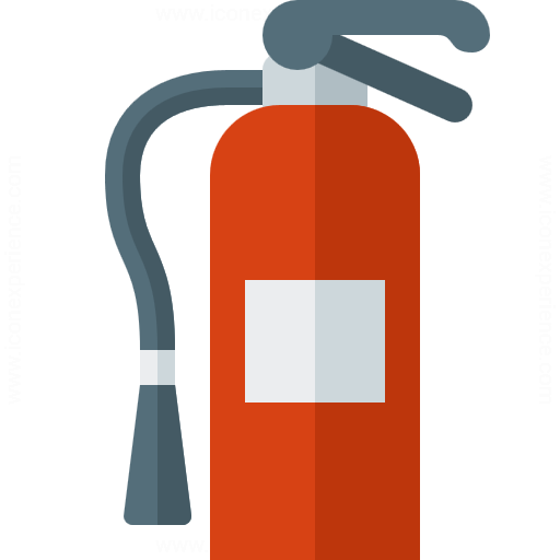 Fire Extinguisher Icon Matafuegos Fire