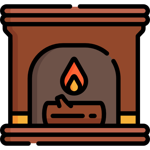 Fireplace Icon Autumn Freepik Freepik