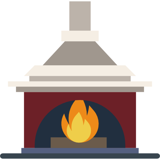 Fireplace Icon Household Compilation Smashicons