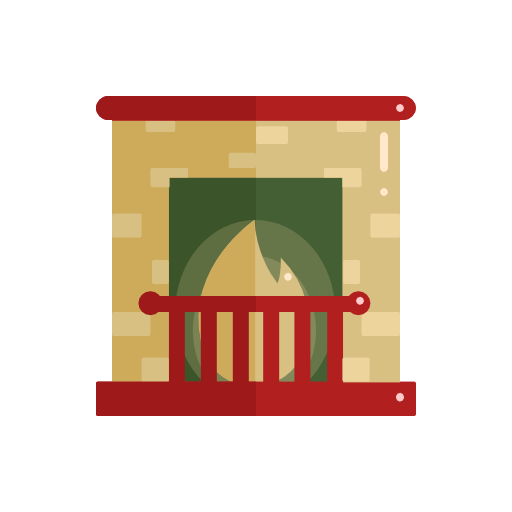 Fireplace, Christmas Icon Free Of Christmas Icons In Flat