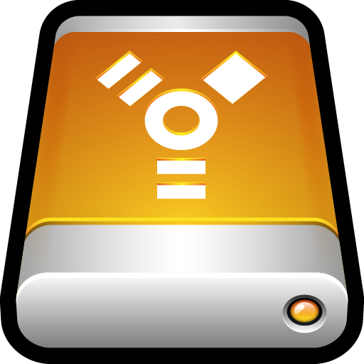 Device External Drive Firewire Icon Hard Drive Iconset Hopstarter
