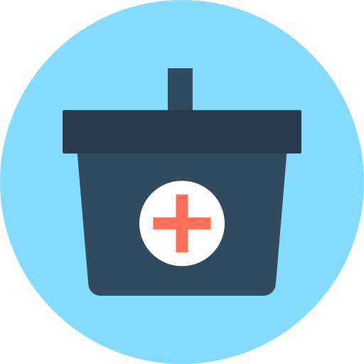 First Aid Kit Icon Medical And Health Vectors Market