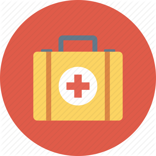 Cross, First Aid, Kit, Medical, Medical Kit, Suitcase Icon