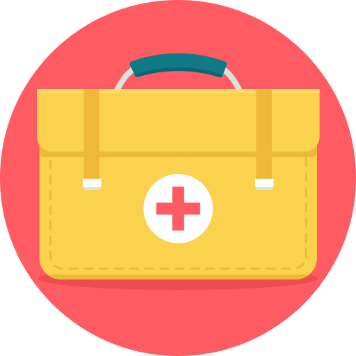 First Aid Kit Doctor Png Icon