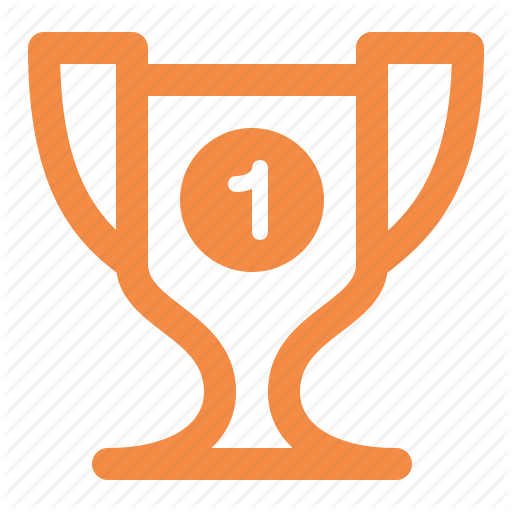 Award, First Place, Trophy, Victory Icon