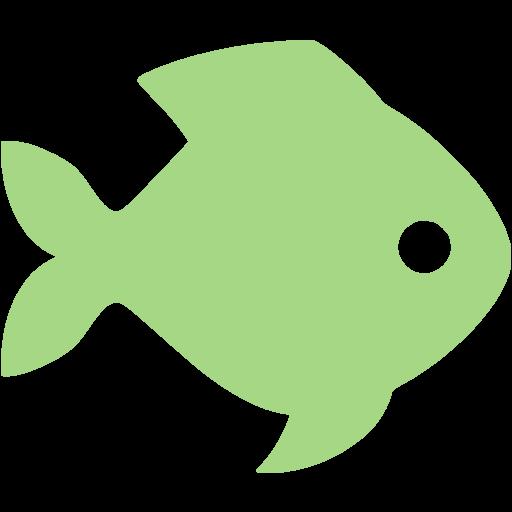 Guacamole Green Fish Icon
