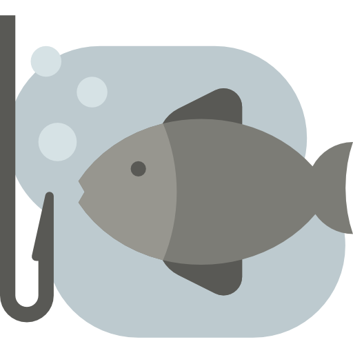 Sports And Competition, Fishing, Fish Icon