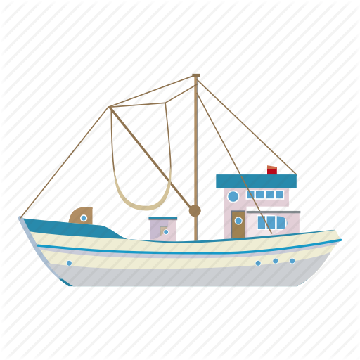 Abstract, Angler, Artwork, Asia, Boat, Cartoon, Fishing Icon