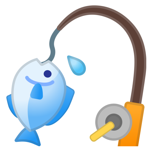 Fishing Pole Icon Noto Emoji Activities Iconset Google