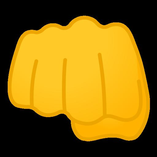 Oncoming Fist Icon Noto Emoji People Bodyparts Iconset Google