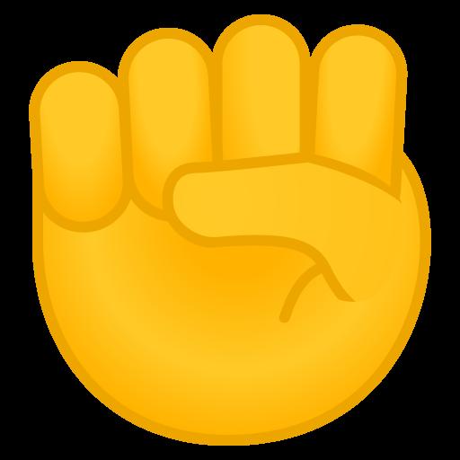 Raised Fist Icon Noto Emoji People Bodyparts Iconset Google