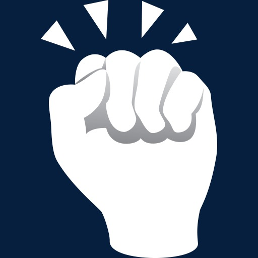 Touch Gesture Fist Icon, Fist Clipart, Touch, Gesture Png Image