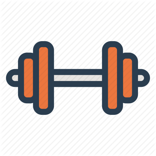 Athlete, Dumbbell, Exercise, Fitness, Gym, Muscle, Training Icon