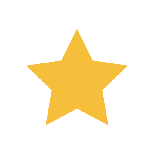 Five Pointed Star, Five Pointed, Five Star Icon With Png