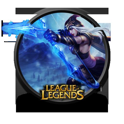 Ashe Icon League Of Legends Iconset