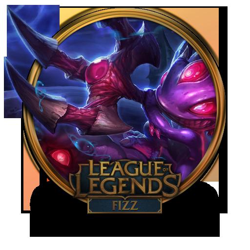 Fizz Void Icon League Of Legends Gold Border Iconset