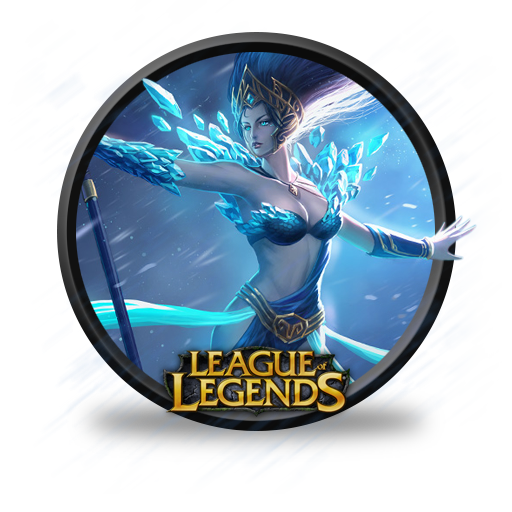 Janna Frost Queen Icon League Of Legends Iconset